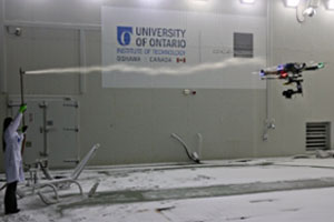 UAV Testing in Wind Tunnel