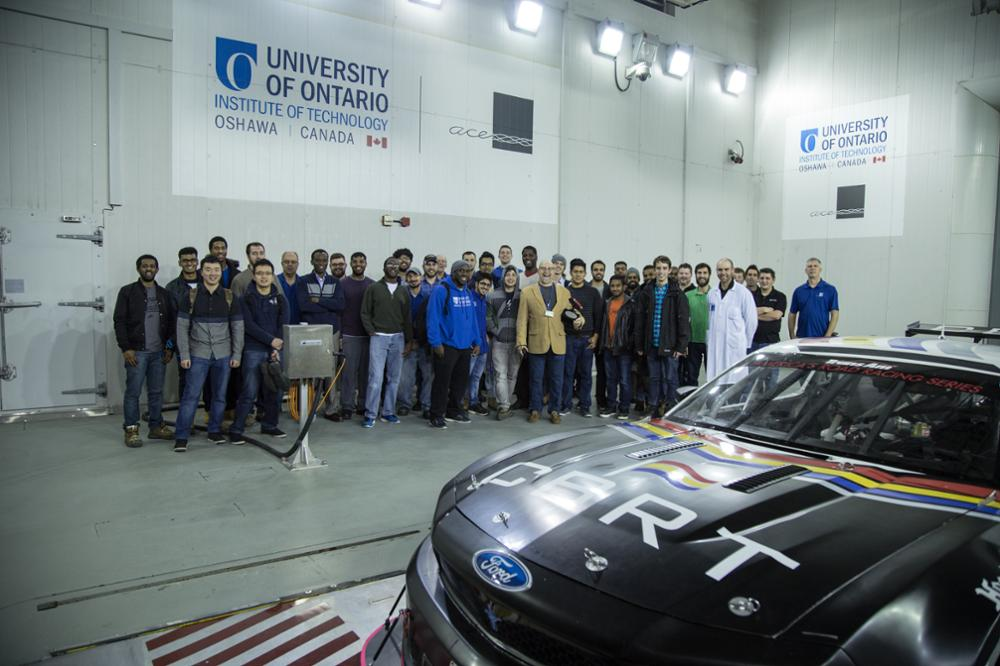 Aerodynamics Group Photo