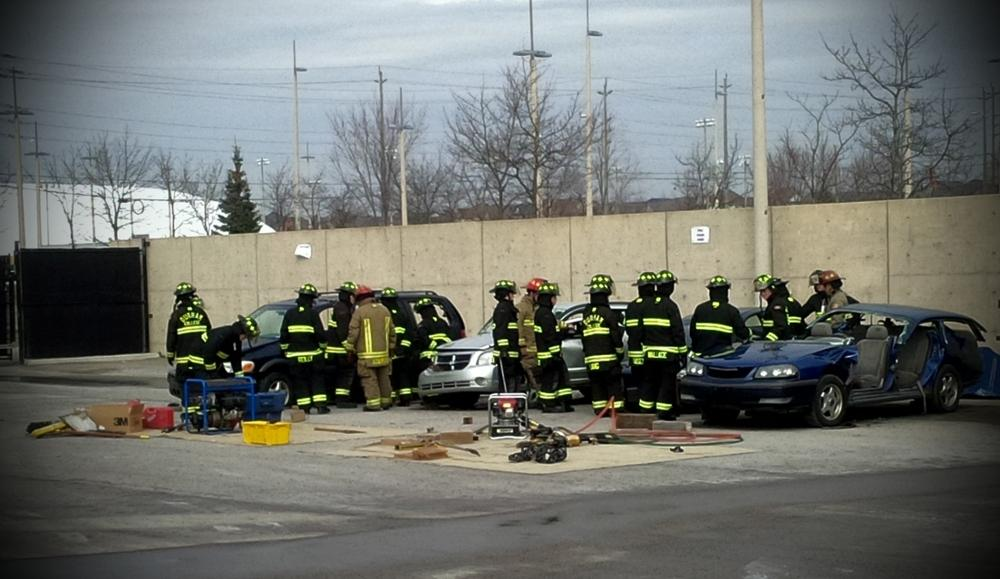 Auto Extrication Outside