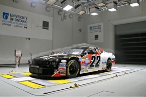 NASCAR in Wind Tunnel