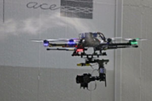 UAV in Wind Tunnel