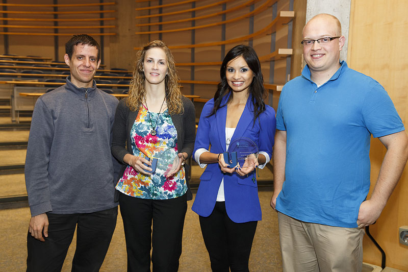 Image of the 2013 UOIT Alumni Award winners