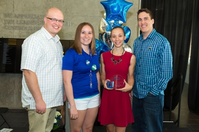 2014 Alumni Association Award winner