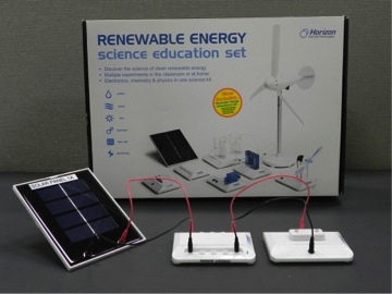 Renewable energy research kit