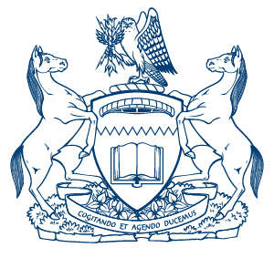 The university's coat of arms