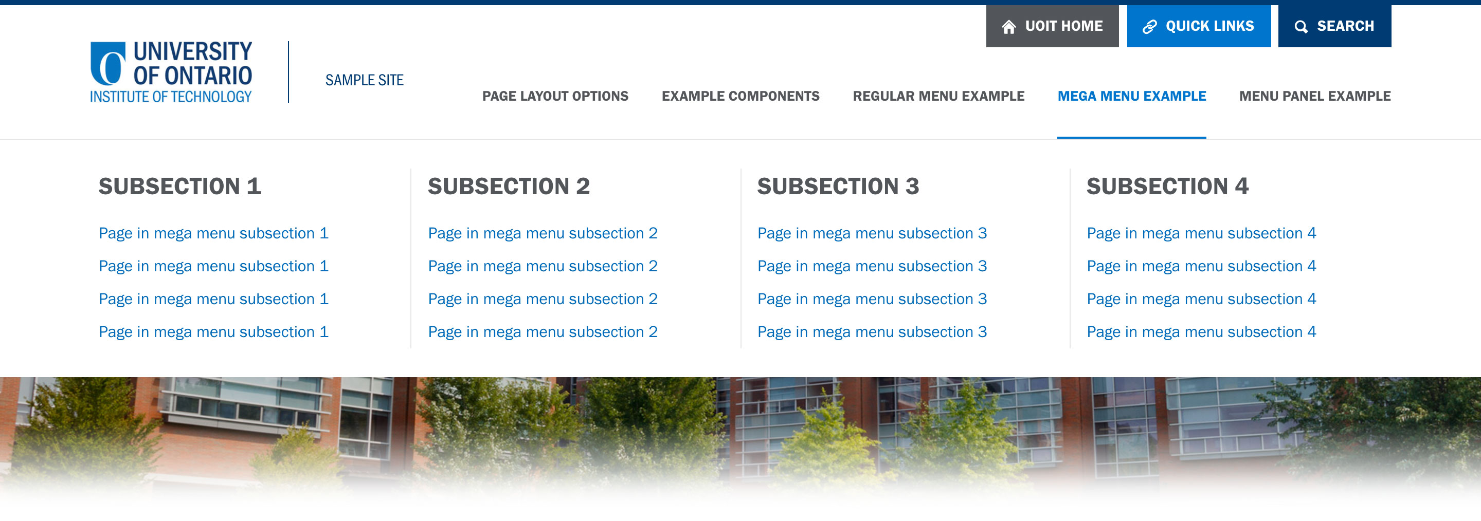 Mega Menu Cms User Guide