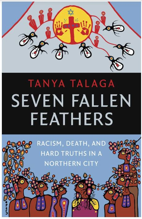 front cover of seven fallen feathers