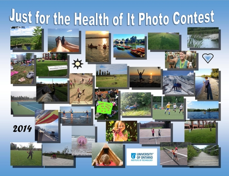 Just for the Health of it Photo Contest Collage