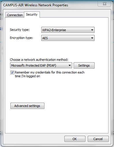 CONNECTING TO THE NETWORK USING WINDOWS 7 (BYOD TELE STUDENTS