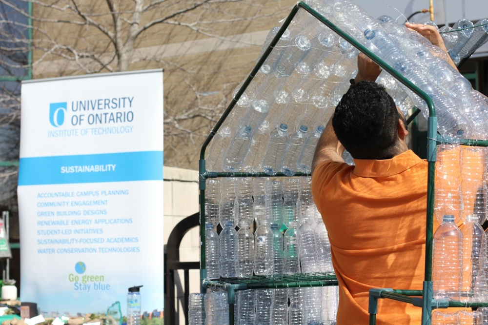 water bottle greenhouse