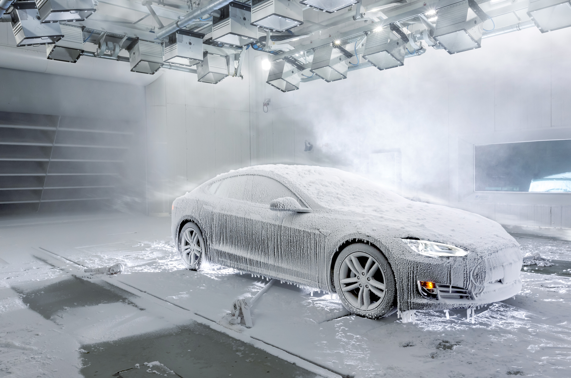 cold weather testing wind tunnel