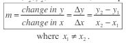 calculating slope equation