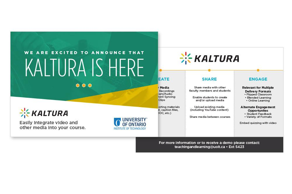 Kaltura Launch Postcard