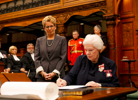 Ontario's 29th Lieutenant Governor Elizabeth Dowdeswell