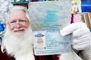Santa is Canadian Citizen