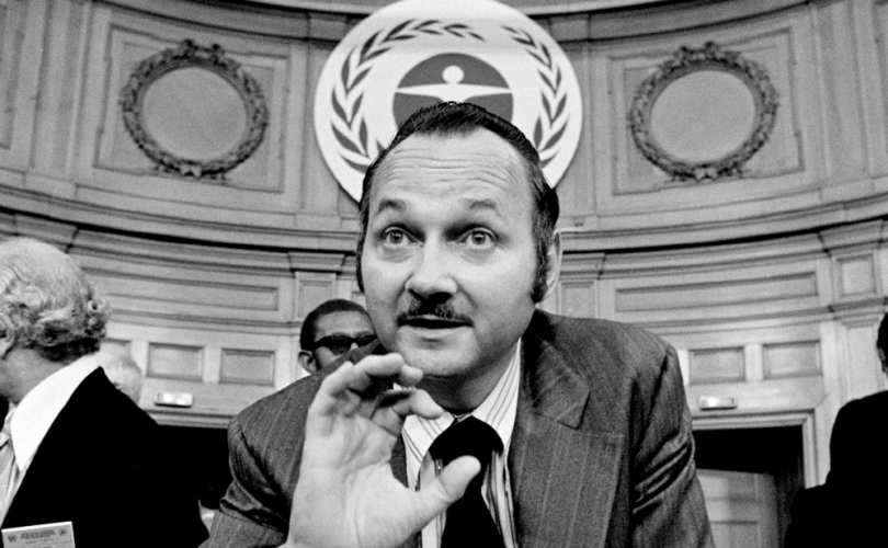 Maurice Strong organized the UN's first environmental conference in Stockholm in 1972
