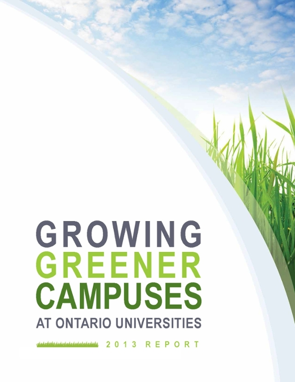 COU's Growing Greener Campuses 2013 Report