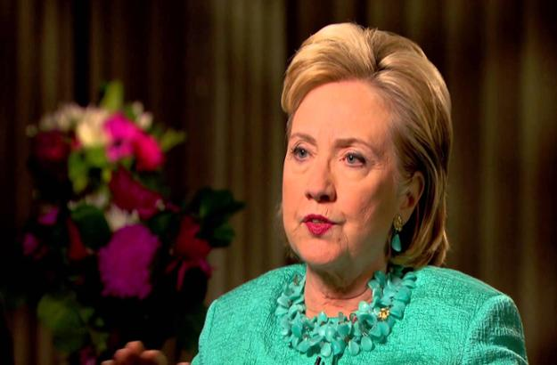 Hillary Clinton shares thoughts on energy with Peter Mansbridge