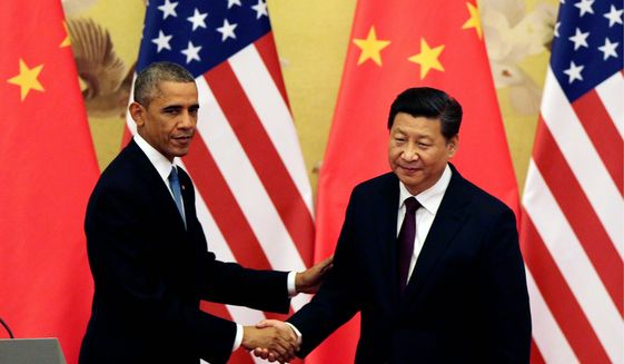 China and US Climate Agreement