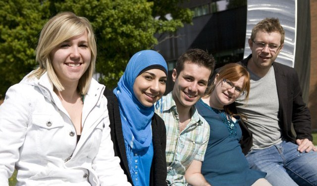 UOIT Students outside