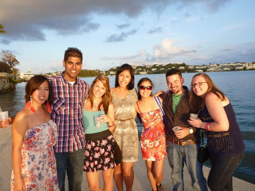 UOIT BEd students in Bermuda
