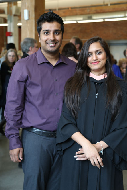 Guests at UOIT's 2014 convocation reception