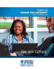 The Cover for the We Are Gifted brochure